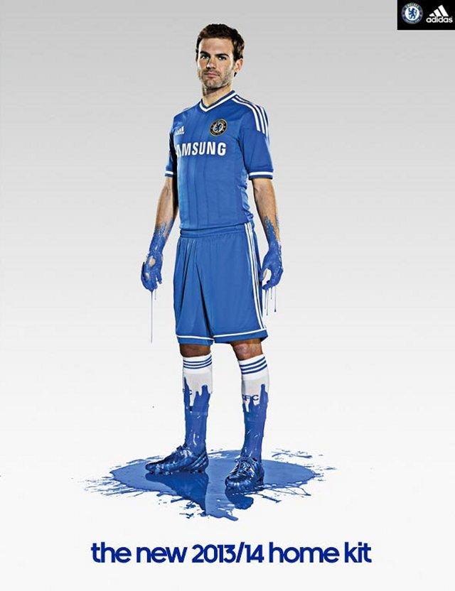 Camiseta Chelsea 2013-2014 Mata