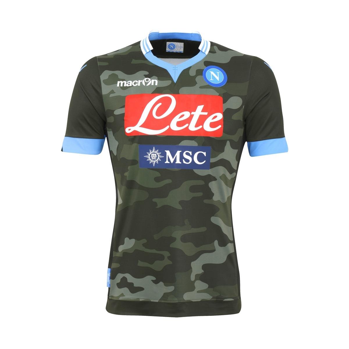 Camiseta camuflaje del Napoli 2013 - 2014