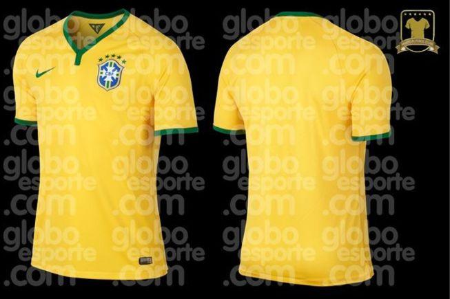 Camiseta de Brasil para el Mundial 2014