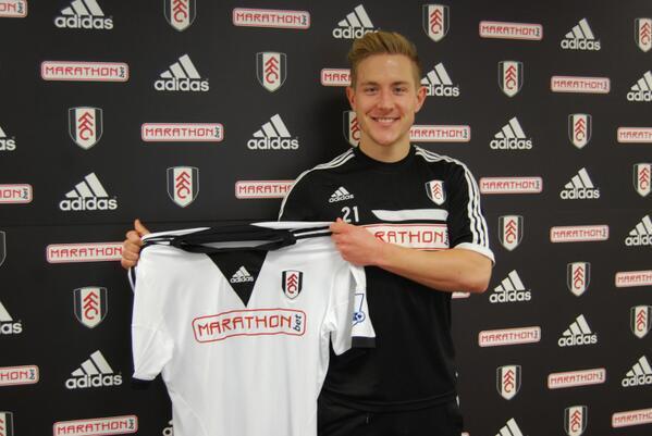 Holtby presentado como nuevo fichaje del Fulham