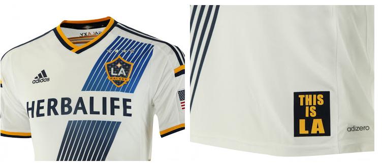 La nueva camiseta de Los Ángeles Galaxy para 2014