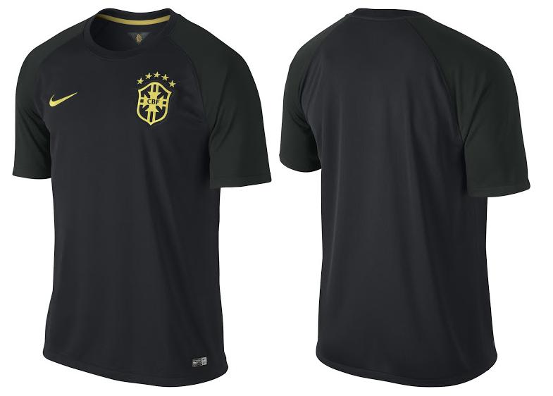 La supuesta tercera camiseta de Brasil para el Mundial 2014