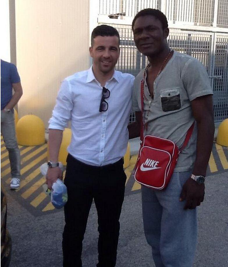 Joseph Minala con la Lazio
