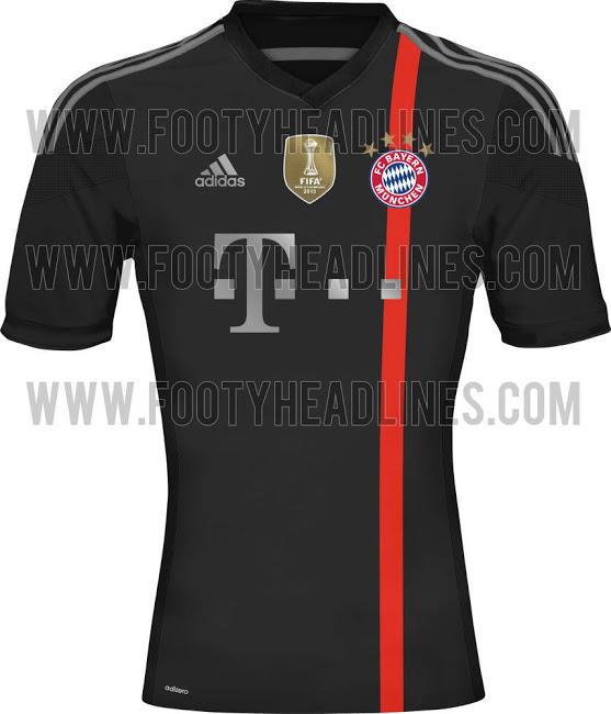La espectacular camiseta del Bayern 2014 - 2015