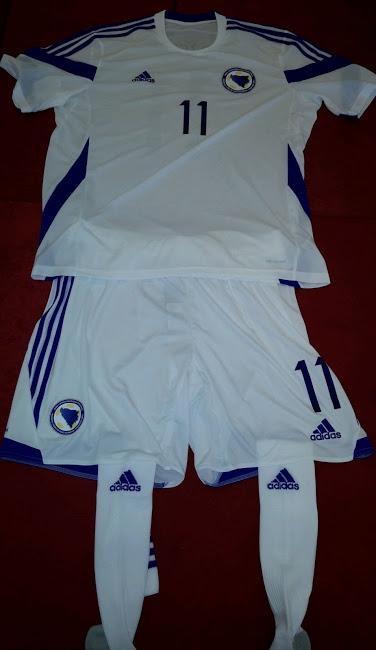 Las camisetas de Bosnia para el Mundial de Brasil 2014