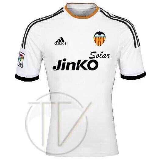 Posible camiseta Adidas del Valencia para la temporada 2014 - 2015