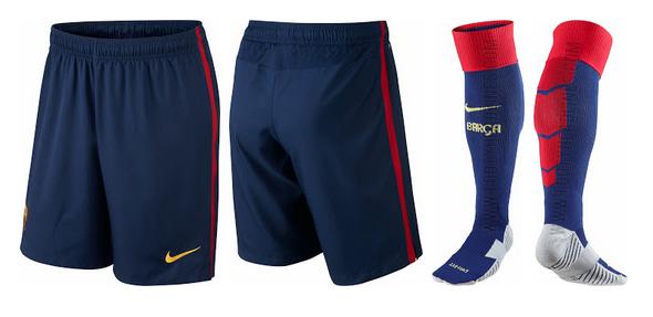 Camiseta del Barcelona para la temporada 2014 - 2015