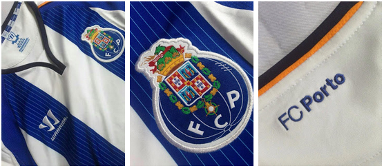 Camisetas del Porto 2014 - 2015