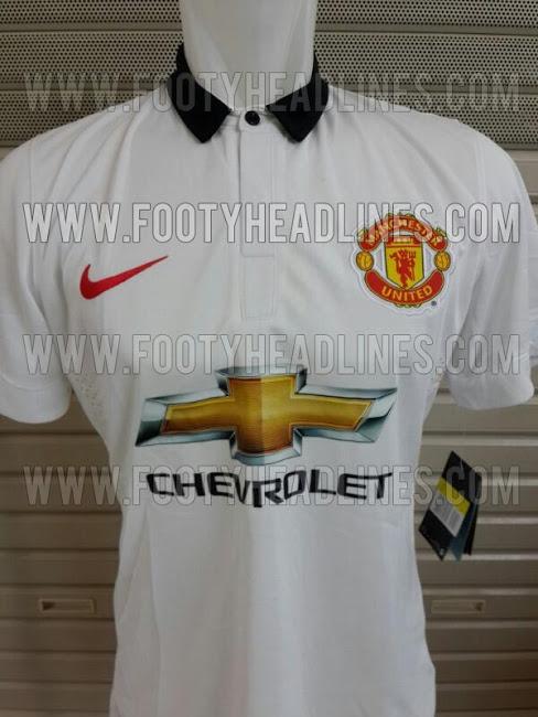 camiseta del manchester united 2014 blanca