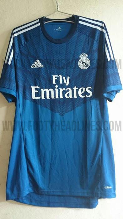 La camiseta de portero del Real Madrid para la temporada 2014 - 2015 7ae78535f547d