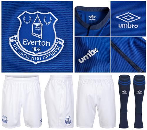 Camiseta del Everton 2014 - 2015