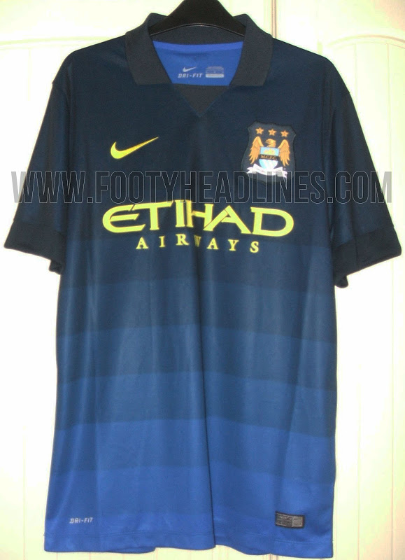 Camiseta away del Manchester City 2014 - 2015
