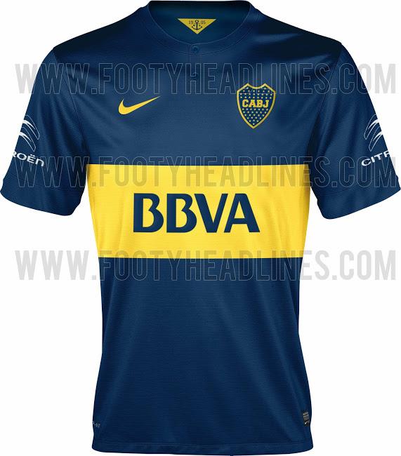 La nueva camiseta de Boca Juniors para la temporada 2014 - 2015