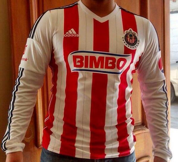 La nueva camiseta de Chivas Guadalajara para la temporada 2014 - 2015