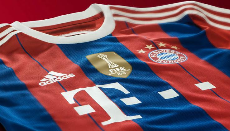 Camiseta del Bayern de Munich 2014 - 2015