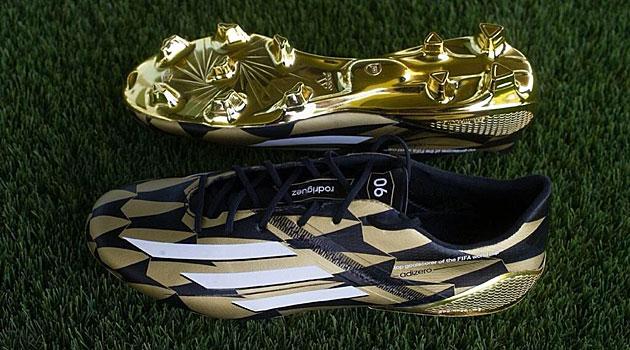 Las botas de oro de James Rodríguez