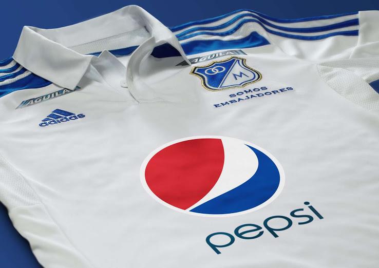 La nueva camiseta visitante de Millonarios 2014 - 2015