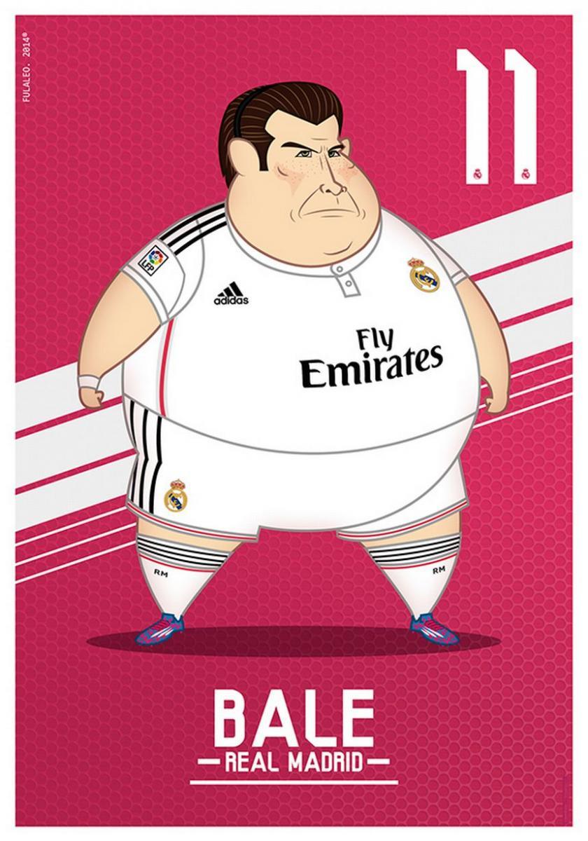 Gareth Bale gordo