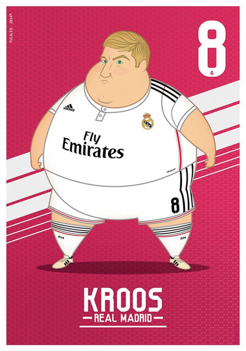 Toni Kroos gordo