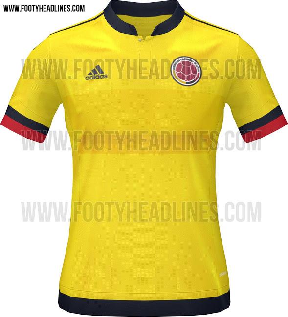Camiseta de Colombia para la Copa América 2015