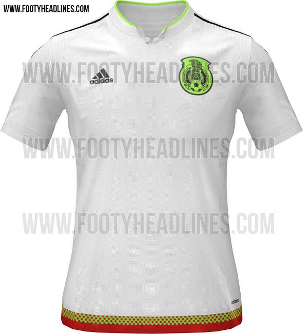 La nueva camiseta de México para la Copa América 2015