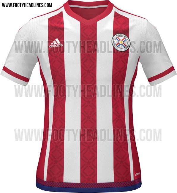La nueva camiseta de Paraguay para la Copa América 2015