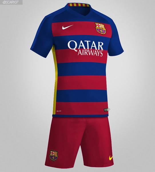 En esta entrada analizaremos la nueva camiseta que el Barcelona ha  presentado para repetir el triplete conseguido esta campaña. 3535e51c6e2