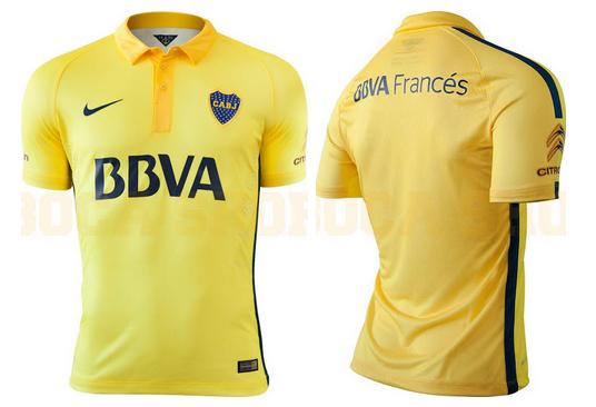 Camiseta de Boca Juniors 2015