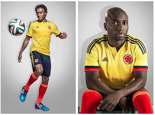 La camiseta de Colombia para la Copa América 2015