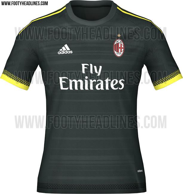 Nueva Camiseta del Milan 2015 - 2016