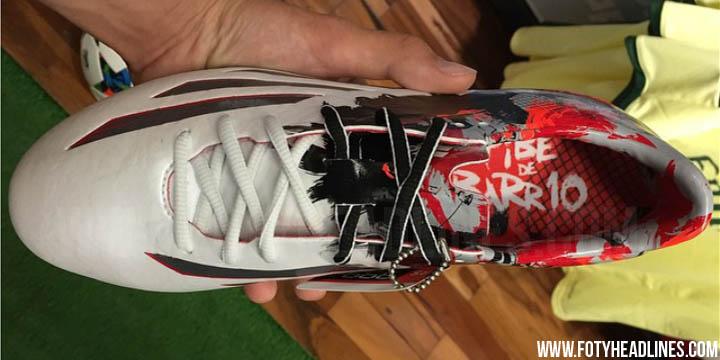 Las nuevas botas Adidas Pibe de Barrio de Lionel Messi en 2015