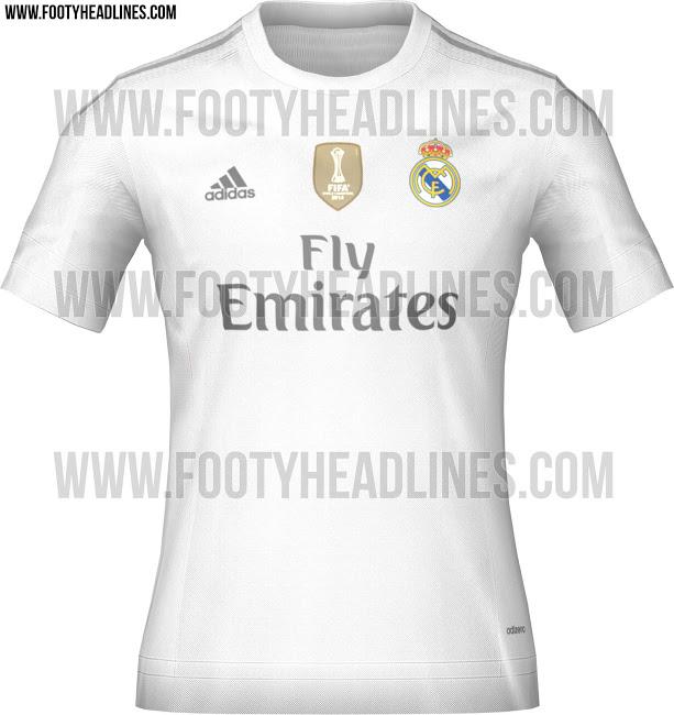 33f213700866f Filtradas las camisetas del Real Madrid 2015 - 2016
