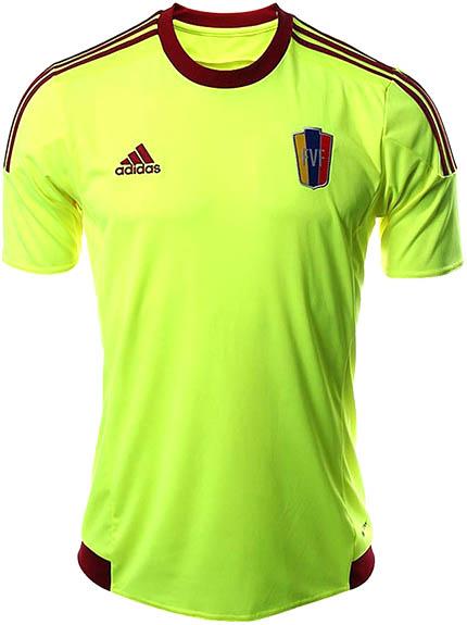 La camiseta de Venezuela para la Copa América 2015