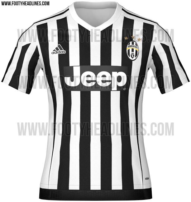 Camiseta de Adidas para la Juventus 2015 - 2016