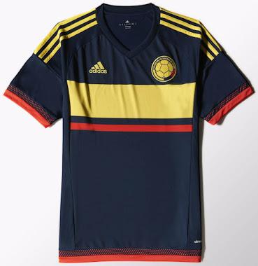 La nueva camiseta de Colombia para la Copa América 2015