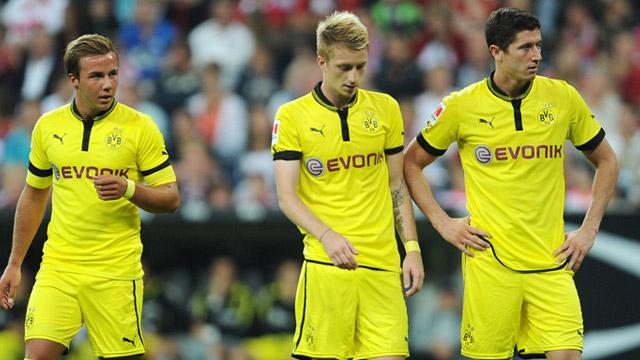 Reus, Gotze y Lewandowski
