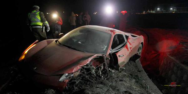 Accidente de Arturo Vidal con Ferrari al conducir borracho