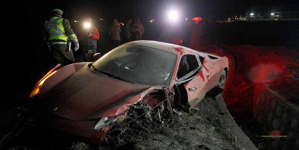 Accidente de Arturo Vidal con Ferrari al conducir borracho