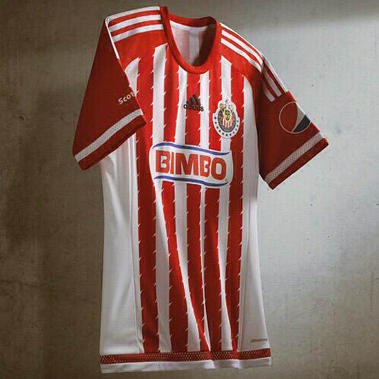 Camiseta de Chivas de Guadalajara 2015 - 2016