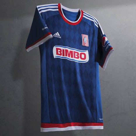Segunda Camiseta de Chivas de Guadalajara 2015 - 2016