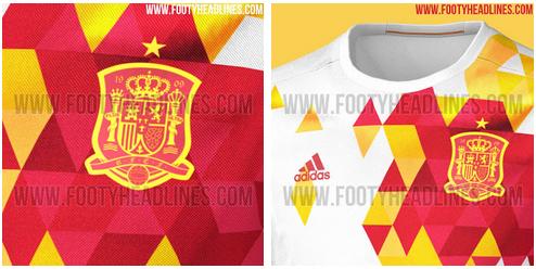 camiseta de España para la Eurocopa 2016