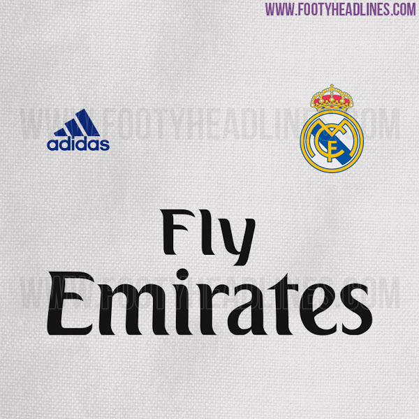 Así será la camiseta del Real Madrid 2016 - 2017