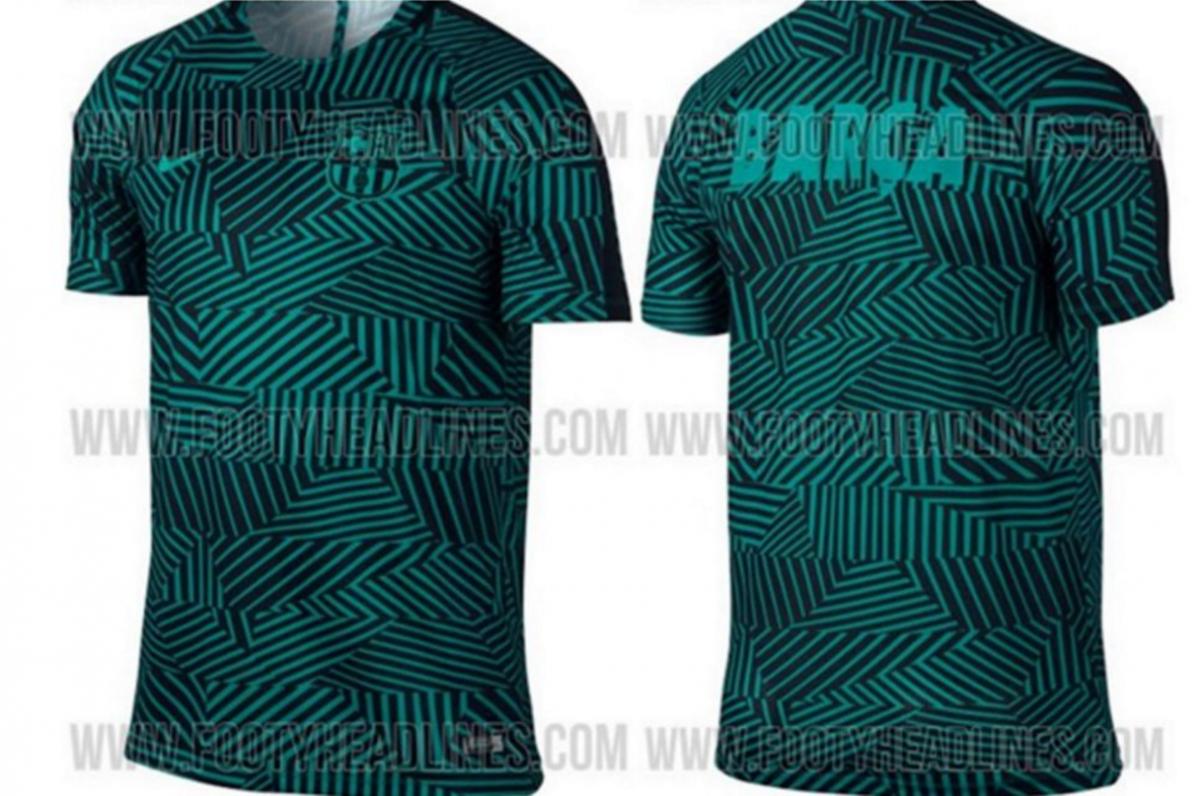 La psicodélica nueva camiseta del Barcelona para la Champions 978cbc8ab39ba