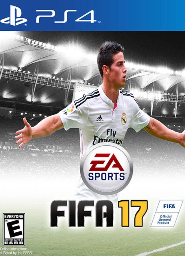 Ejemplo de cómo sería la portada del próximo FIFA 17