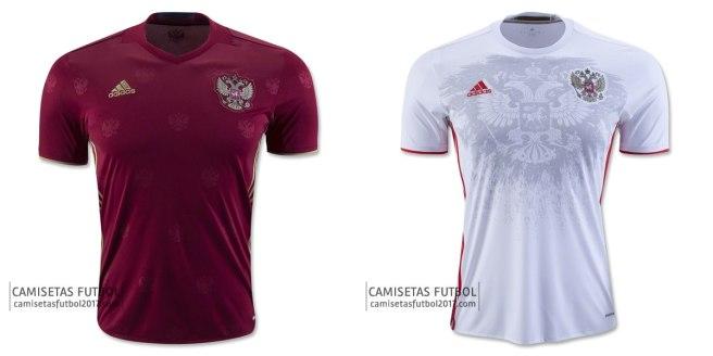 Camiseta Rusia Eurocopa 2016 | Futbolprimera