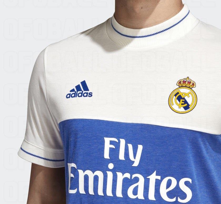 Filtrado la nueva camiseta Adidas Real Madrid 2018 retro Fut