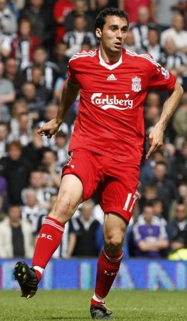 Arbeloa con el Liverpool