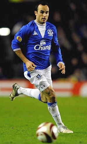 Landon Donovan, MLS, Everton