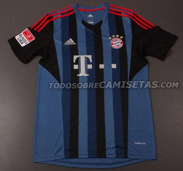 La camiseta del Bayern de Munich 2013-2014