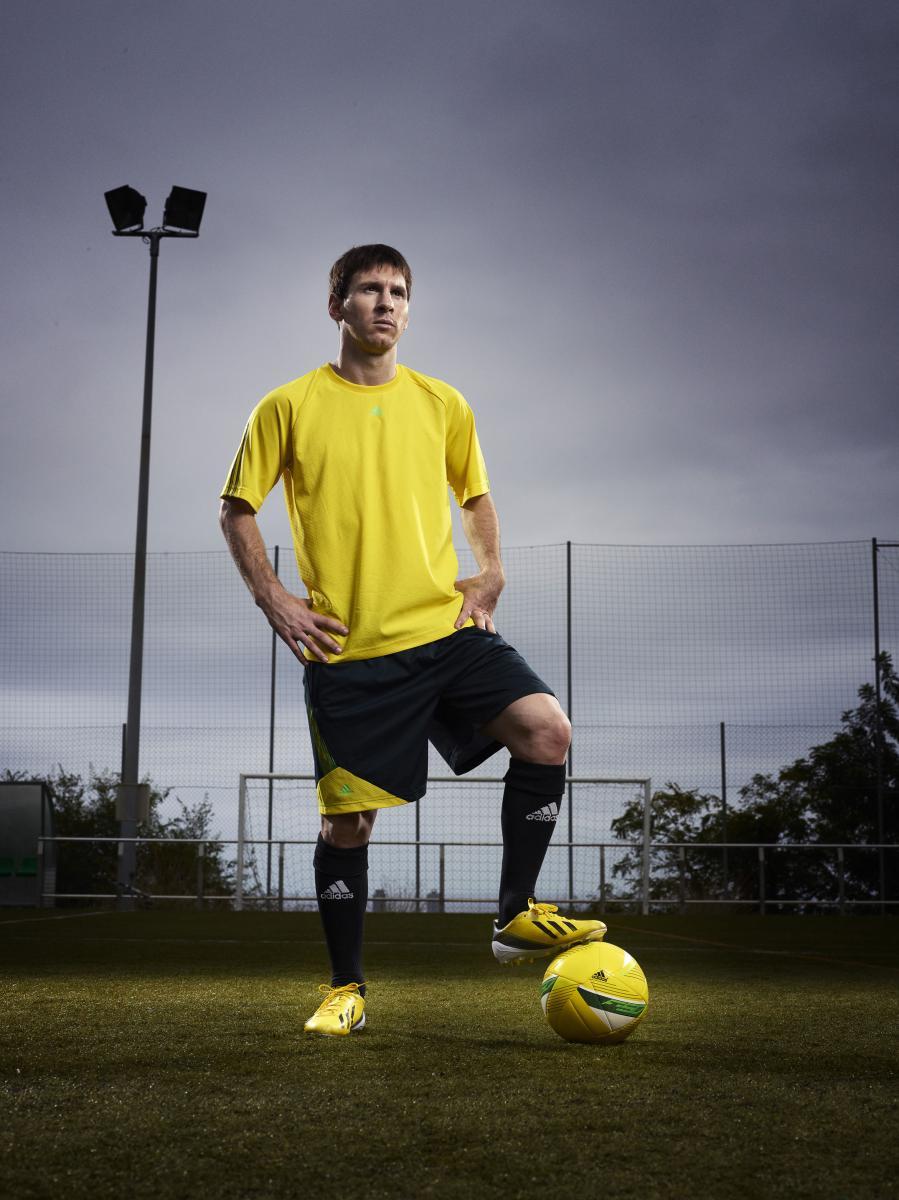 Botas ADIDAS de Lionel Messi: adizero F50